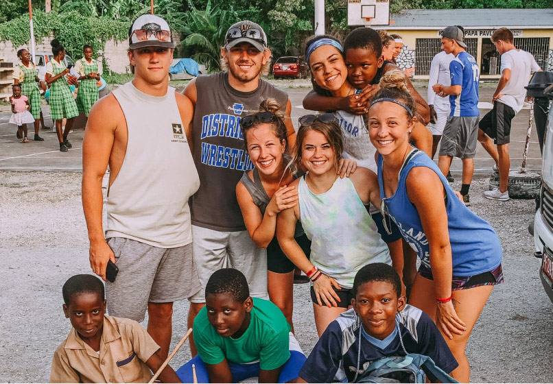 Youth group mission trips