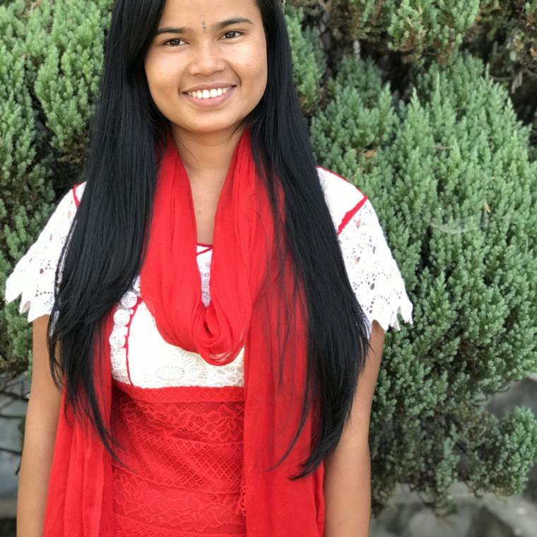 Shila Tamang Bold Hope