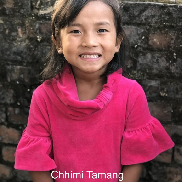 Chhimi Tamang Bold Hope