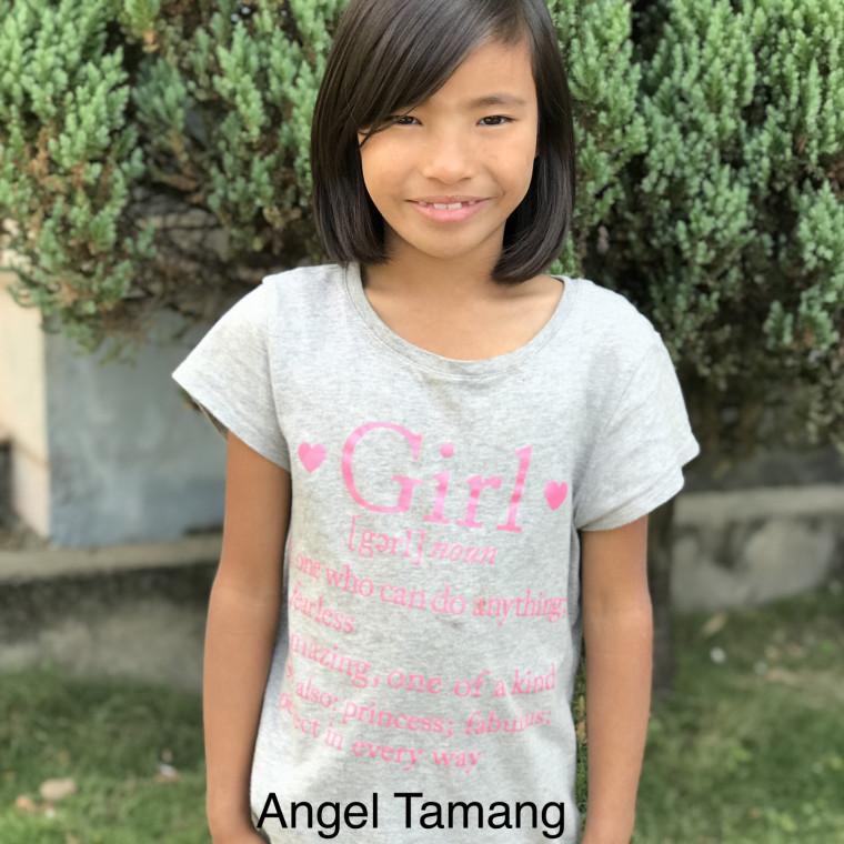 Angel Tamang Bold Hope