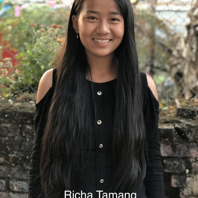 Richa Tamang Bold Hope