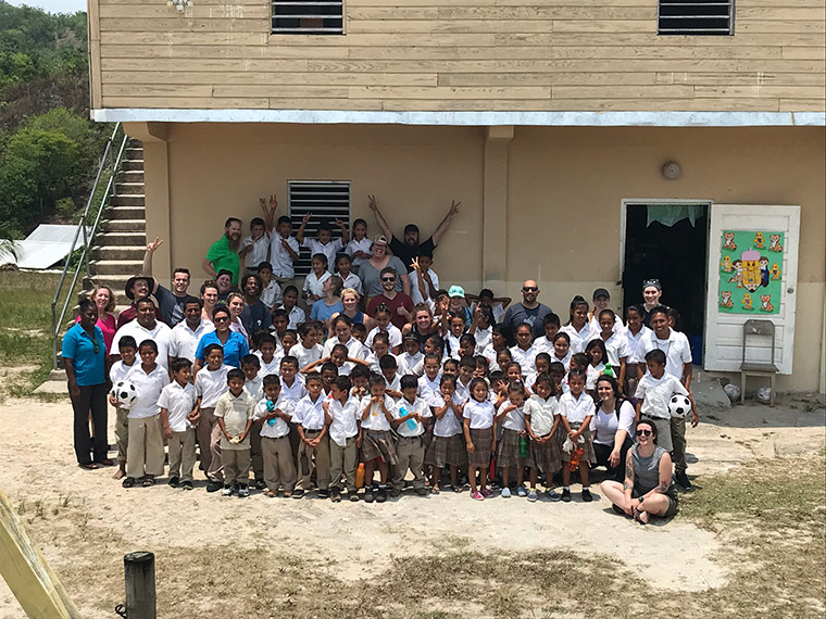 Mission trip to Belize.